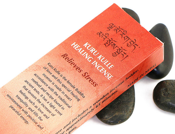 Kuru Kulle Healing Incense Sticks Close Up