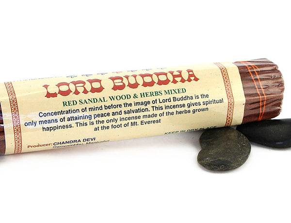 Lord Buddha Incense Sticks Close Up