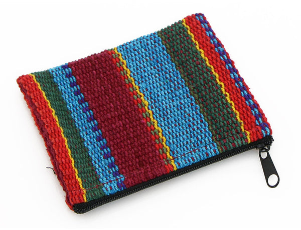 Mala Bag Rainbow Striped Cotton