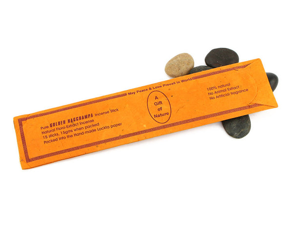 Premium Nagchampa Incense Sticks Package