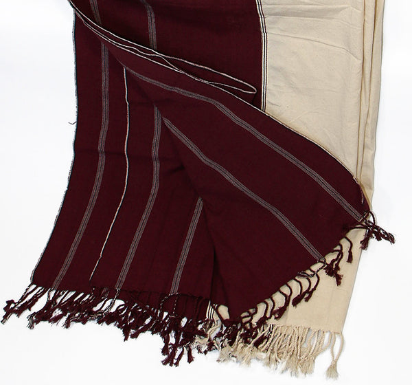 Tibetan Meditation Shawl Folded