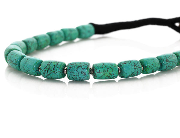 Tibetan Turquoise Necklace Front View