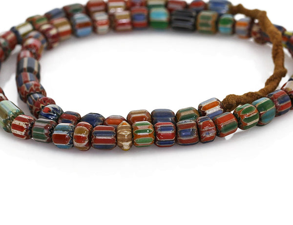 Vintage Nepalese Ethnic Necklace Close Up