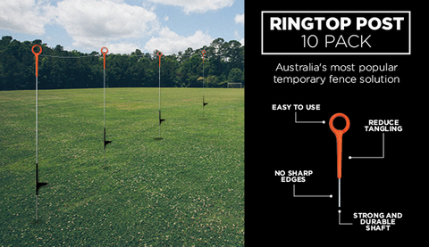 Ring Top Post - Pack 10 - turfmate