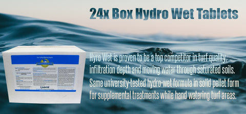 24x Box Hydro Wet Tablets - turfmate