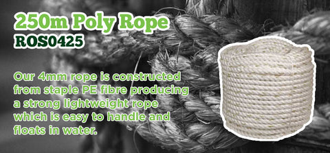250m poly rope