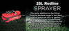 25L Redline Rechargeable Sprayer - turfmate