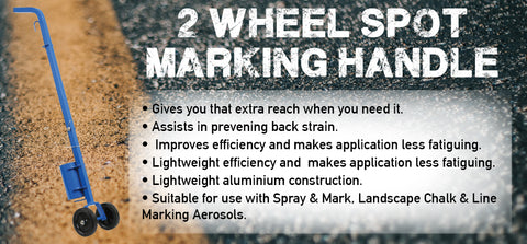 2 Wheel Spot Marking Handle - turfmate