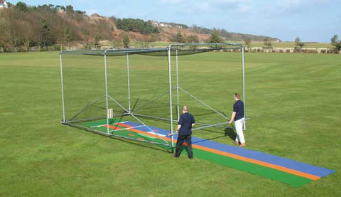 Portable Steel Cricket Cage - turfmate