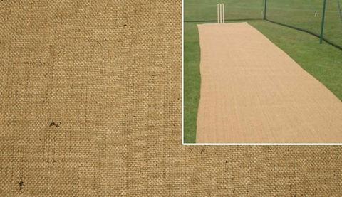 Hessian Cricket Covers - turfmate
