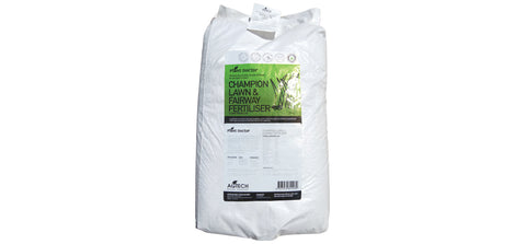 20kg 2-4mm Mini Prill - Champion Mineral Turf & Lawn fertiliser