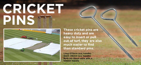 Cricket Pins - turfmate