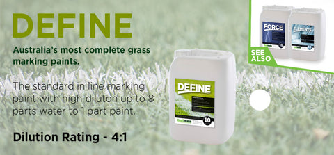 10L Define Linemarking Paint - turfmate