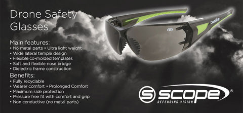 Drone Safety Glasses