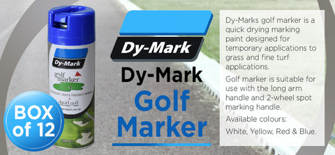 DY-Mark Golf Marker - Box 12 - turfmate