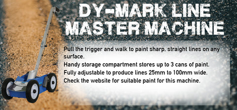 Dy-Mark Line Master Machine