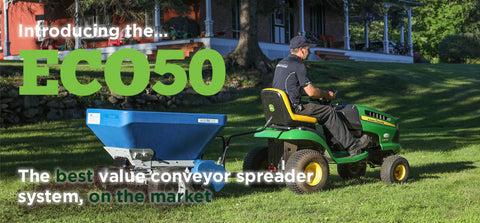 ECO 50 Tow-Behind Spreader - turfmate