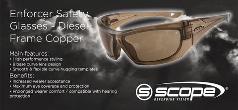 Enforcer Safety Glasses