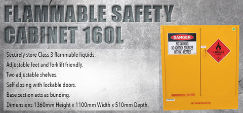 Flammable Safety Cabinet 160L