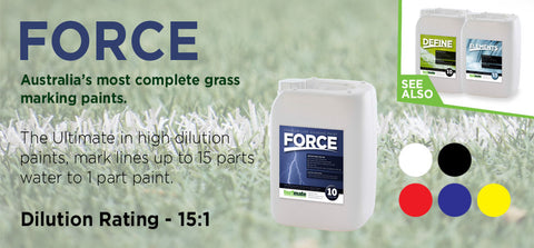 10L Force Grass Marking Paint - turfmate