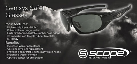 Genisys Safety Glasses - turfmate