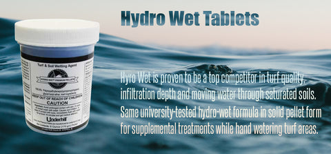 Hydro Wet Tablets - turfmate