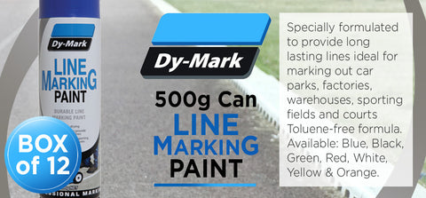 500g Line Marking Paint - Box of 12 - turfmate