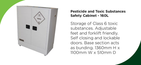 Pesticide and Toxic Substances Safety Cabinet - 160L