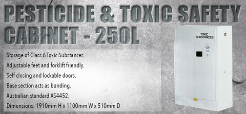 Pesticide and Toxic Substances Safety Cabinet - 250L