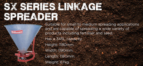 SX Series Linkage Spreader - turfmate