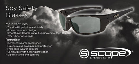 Spy Safety Glasses - turfmate
