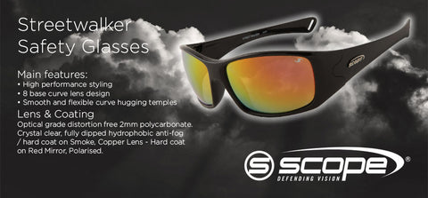 Streetwalker Safety Glasses - turfmate