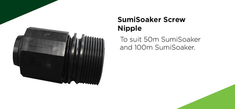 SumiSoaker Screw Nipple