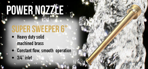 "Super Sweeper 6"" Power Nozzle"