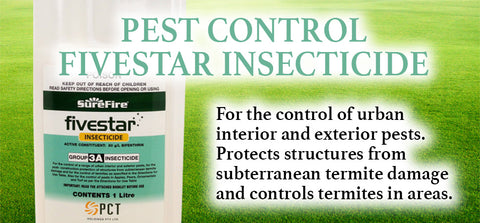 Pest Control 1L Fivestar Insecticide - turfmate