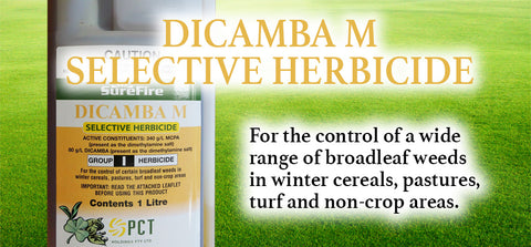 Dicamba M Selective Herbicide - turfmate