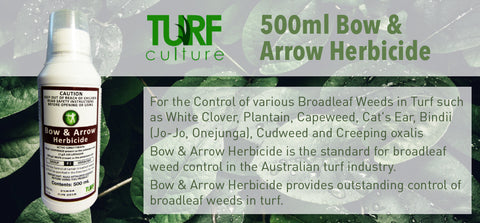 500ml Bow & Arrow Herbicide - turfmate