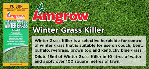 100ml Winter Grass Killer - turfmate