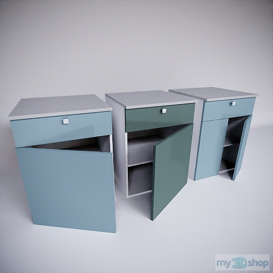 PYTHA V24 Base Combination Cabinets