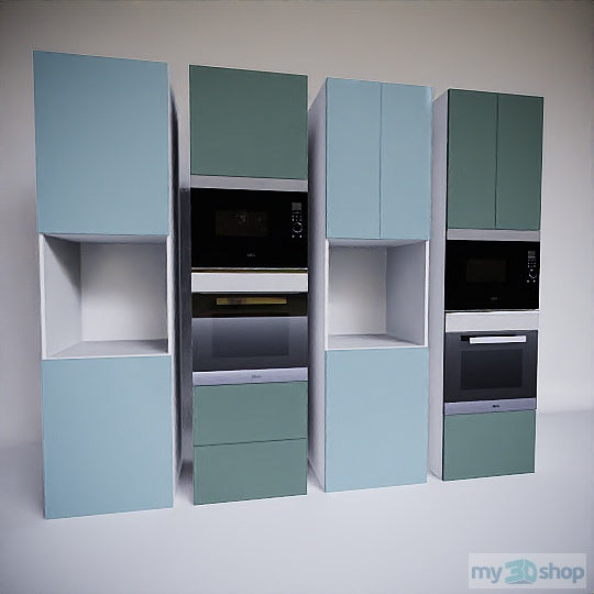 PYTHA V24 Tall Appliance Cabinets