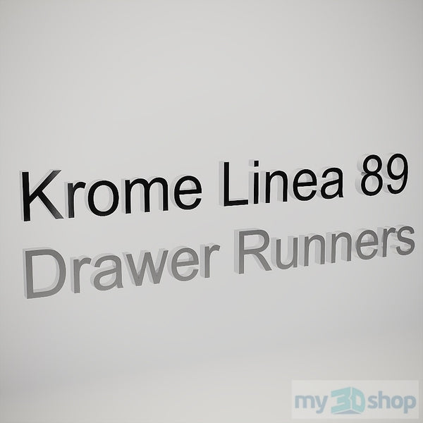 PYTHA V24 Krome Linea 89 Drawer Runners