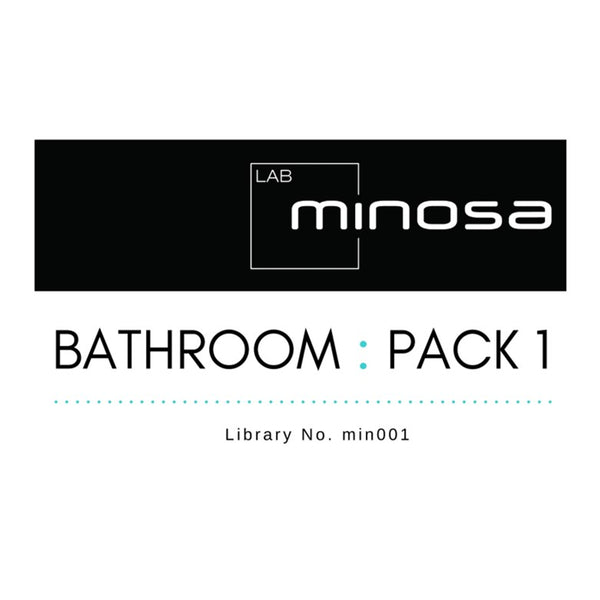 MinosaLAB: Bathroom : Pack 1