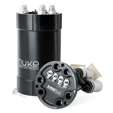 Nuke Performance 2G Fuel Surge Tank 3.0 liter for up to three internal fuel pumps