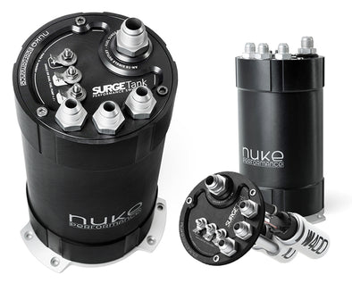 Nuke Performance 2G Fuel Surge Tank 3.0 liter for single or dual DW400