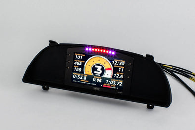 Hypertune Nissan Skyline GTR BNR32 Dash Cluster replacement to suit Motec C127 display