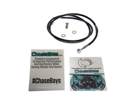 Chase Bays Stainless Steel Clutch Line - Nissan 240Sx & 350Z/G35