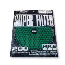 HKS 200mm Super Power Flow Filter Element, Dry, 3-Layer (70001-AK022)