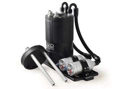 Nuke Performance Fuel Surge Tank 3.0 liter for external fuel pumps