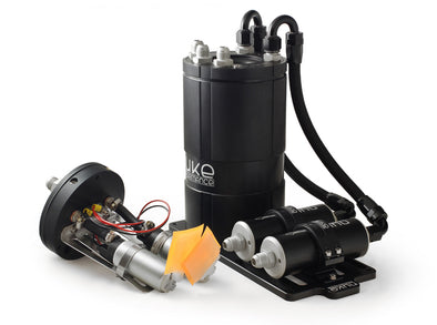 Nuke Performance Fuel Surge Tank 3.0 liter for single or dual internal fuel pumps