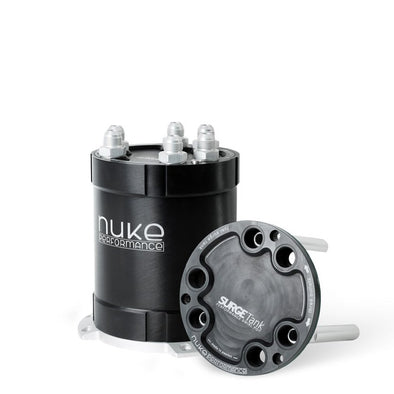 Nuke Performance 2G Fuel Surge Tank 2.0 liter for up to three external fuel pumps